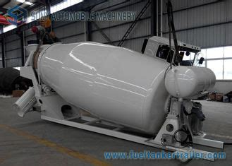electric 5 m3 mixer truck bowl for 6x4 hino mixer truck in new zealand