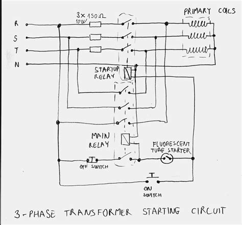 480 Three Phase Wiring by Wrg 3124 Wiring Transformer Diagram