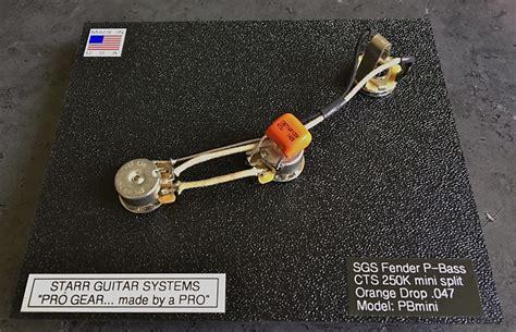 Fender Bass Electronics Upgrade Cts Mojotone Reverb