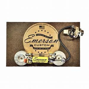 Emerson Custom Les Paul Junior Prewired Kit  Lp