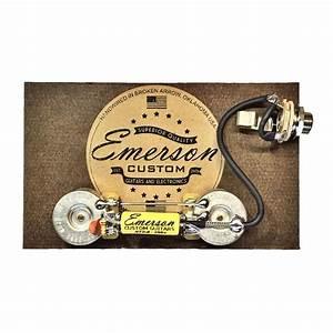 Emerson Custom Les Paul Junior Prewired Kit  Lp