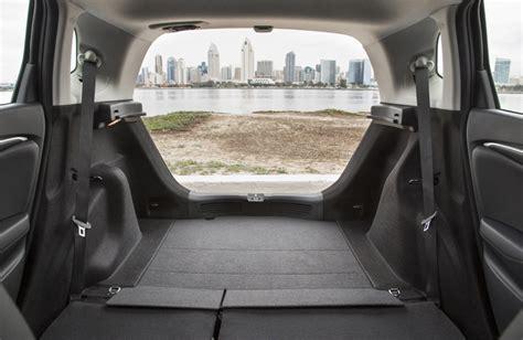 Hatchback Cargo Space Comparison by 2017 Honda Fit Vs 2017 Honda Civic Hatchback