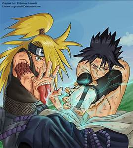 Deidara vs Sasuke by Shabaku on DeviantArt