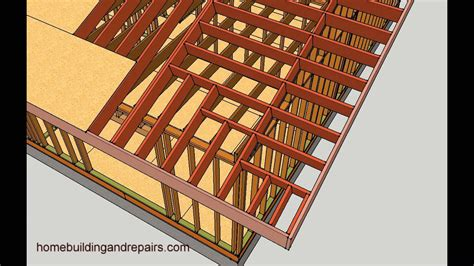 Framing A Hip Roof Addition by How To Make Gable Roof Overhang Longer Engineering And