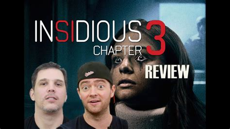 INSIDIOUS CHAPTER 3 MOVIE REVIEW - YouTube