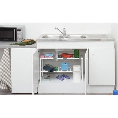 rangement sous evier cuisine etagère sous évier modulable rangement déco cuisine cuisine de la table gifi