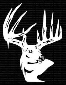 Deer Hunting Window Decals