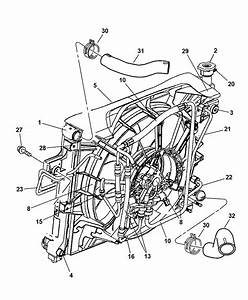 5143201aa genuine mopar switch hydraulic fan control With diagram further 2001 jeep grand cherokee radiator diagram on jeep
