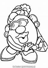 Potato Coloring Head Mr Pages Printable Fun Potatoes Mrs Colouring Cartoon Poppy Potatohead Cartoons Colors Drawings Printables Feet Ratings Yet sketch template