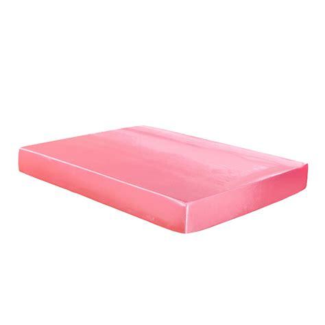 spannbettlaken polyester satin superweiches polyester bettw 228 sche spannbettlaken f 252 r schlafzimmer ebay