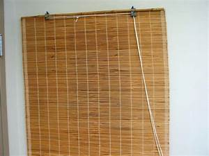 Bamboo blinds roll up decor trends amazing bamboo blinds for Roll up curtains ikea