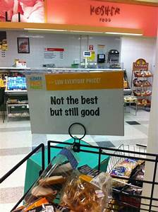 Honest advertis... Grocery Stores Quotes
