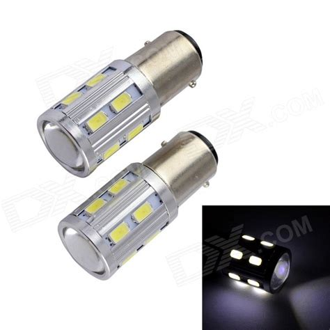 12v 10w led t20 10w 12v 600lm 16 led 2 mode cob fog light bulb 2pcs free shipping dealextreme