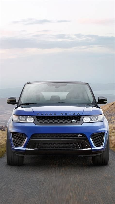 Black Range Rover Iphone Wallpaper by 2017 Land Rover Range Rover Sport Svr Iphone Wallpaper
