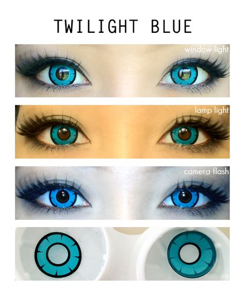 color lens twilight blue colored contacts lensvillage