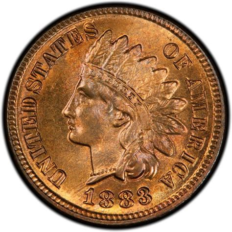 indian pennies 1883 indian head pennies values and prices past sales coinvalues com
