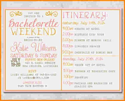 Bridal Shower Itinerary Template Images Of Baby Shower Bridal Shower Itinerary Template 108 Best Bachelorette