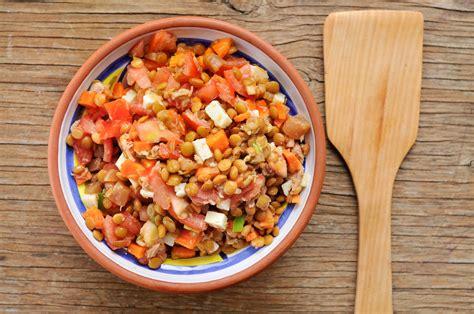 cuisiner lentilles corail recettes lentilles corail salade