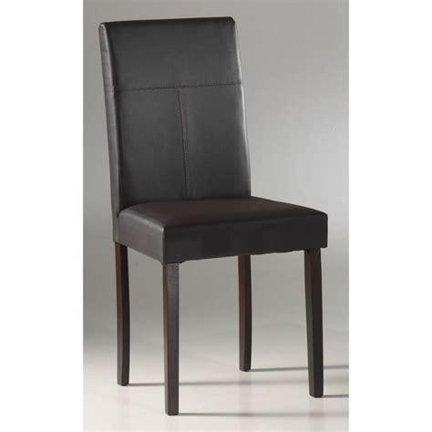 chaise salle a manger cuir chaise de salle a manger en cuir pas cher
