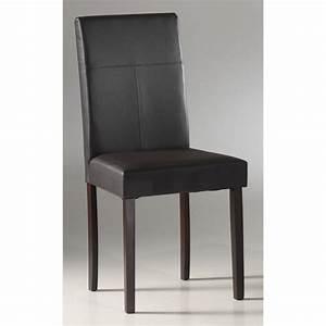 chaise de salle a manger en cuir pas cher With chaises de salle à manger pas cher
