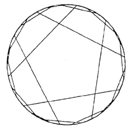 pentagon tiling hyperbolic plane circles paper