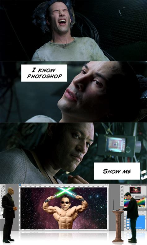 Neo Memes - irti funny picture 276 tags know photoshop matrix keanu reeves neo