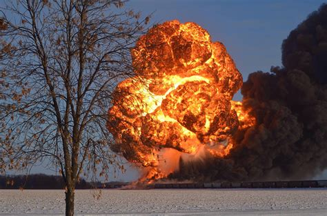 A Tombstone Mentality On Exploding Oil Trains