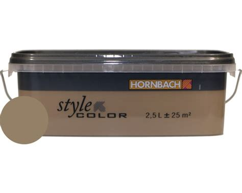 Farbe Cappuccino Küche by Wandfarbe Stylecolor Cappuccino 2 5 L Bei Hornbach Kaufen