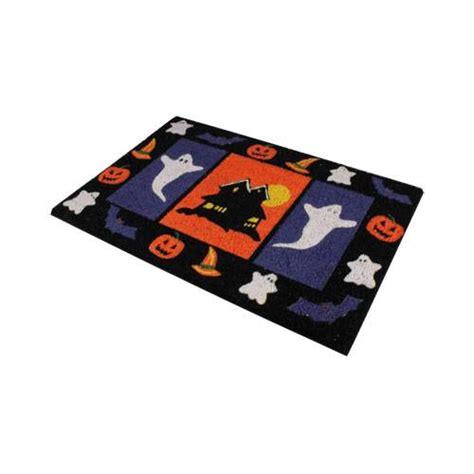 Novelty Doormat by Novelty Pumpkin Witch Ghosts Door Mat In