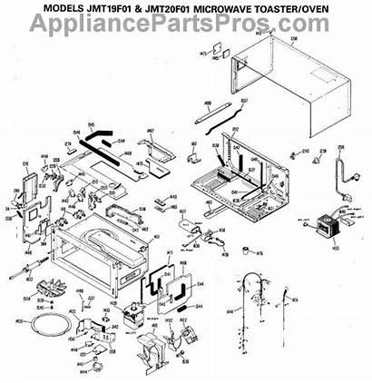 Toaster Microwave Parts Oven Ge Appliancepartspros