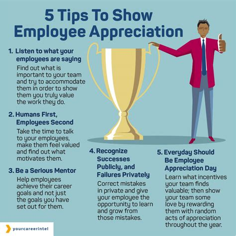 Five Tips To Show Employee Appreciation  Your Career Intel