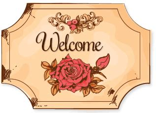 welcome sign template free vintage flower tag sign ebay template free vintage flower tag sign auction