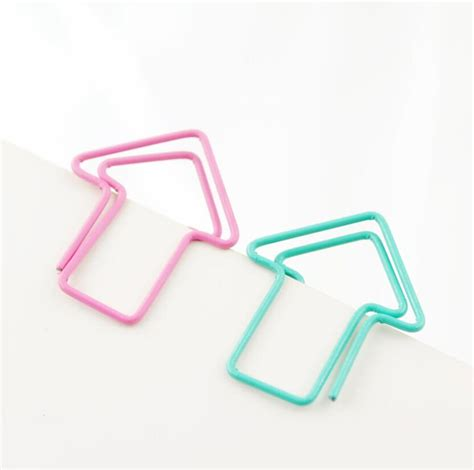 5boxes arrow bookmark paper clip office stationery for