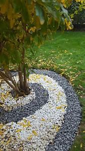 deco jardin avec cailloux fashion designs With decoration jardin avec galets 7 parterre de fleur avec cailloux obasinc