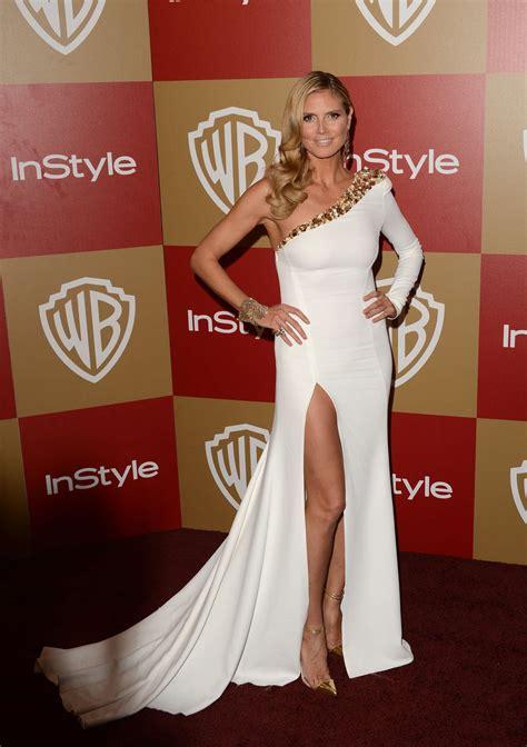 Heidi Klum Warner Bros Instyle Gotceleb
