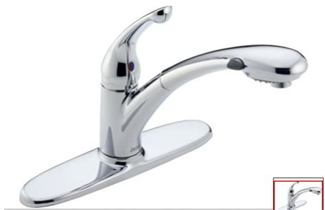 fix kitchen faucet leak faucet leak below kitchen sink and from the delta faucet replace or repair plumbing diy