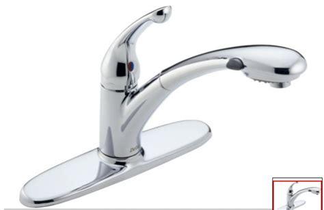 delta kitchen faucet leaking  handle opendoor