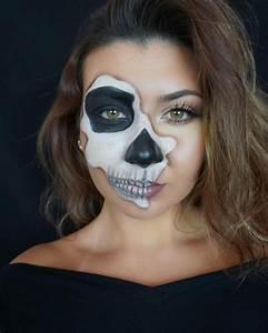Skeleton Makeup Simple - Mugeek Vidalondon