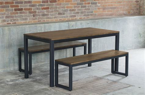 oak and steel dining table west elm industrial oak steel dining table set decor
