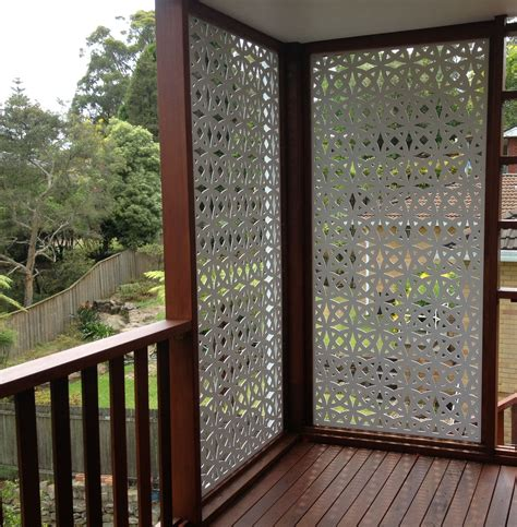 Paravent Balkon Sichtschutz by Timber Panels Timber Privacy Screens Divider