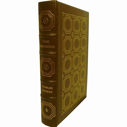 Leather Bound Expectations Dickens Charles Books Classic
