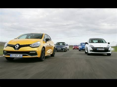 siege clio 2 rs drag race renault clio 4 rs vs clio 3 rs cup motorsport
