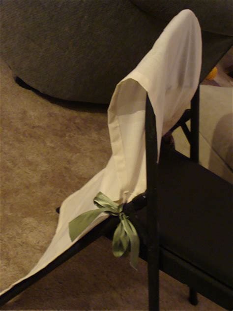 diy folding chair covers elizabeth designs the