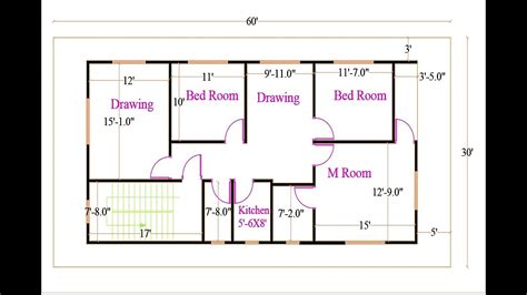 2d Floor Plan In Autocad  Floor Plan Complete Tutorial