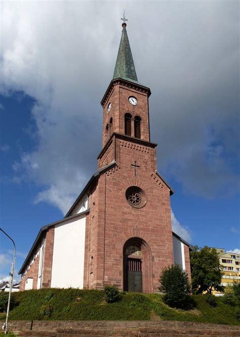 Furtwangen, Die Katholische Kirche Stcyriak, Aug2014