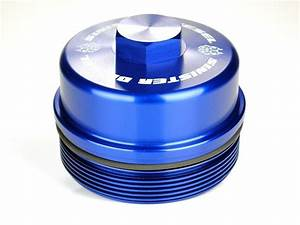Sinister Diesel Fuel Filter Cap For Ford Powerstroke 2008