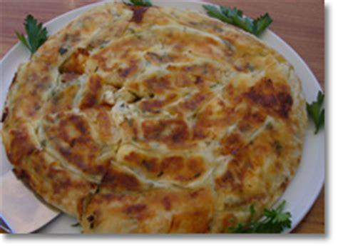 cuisine turque borek croisière goélette turquie location bateau caïque voilier