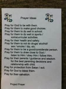 School Prayer Examples