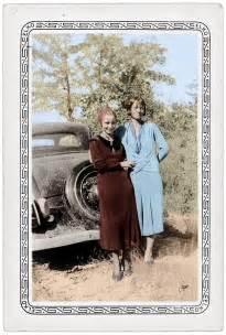 Bonnie Parker Colorized