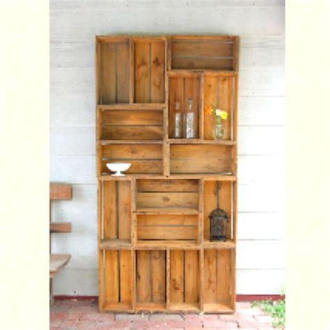 diy wooden crate shelves drew pinterest